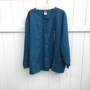 Scrubs Cherokee Workwear Jacket 4XL Dark Blue